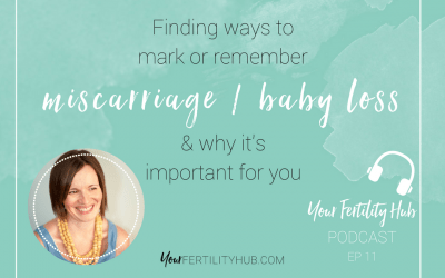 Podcast 11 – Remembrance for miscarriage and baby loss