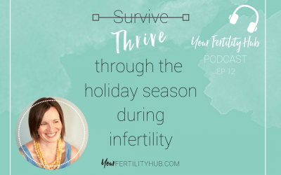 Podcast 12 – How to get through the holidays during infertility