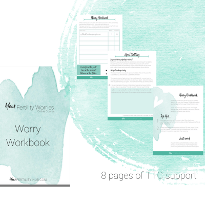 Your Fertility Worries Workbook