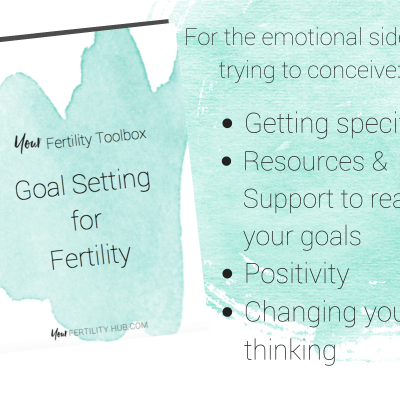 Fertility Goal Setting Workbook