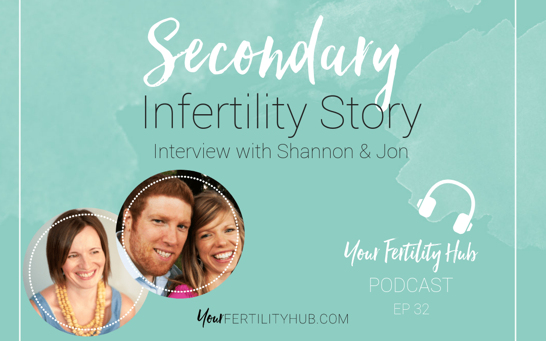 Podcast 32 – Secondary Infertility Story
