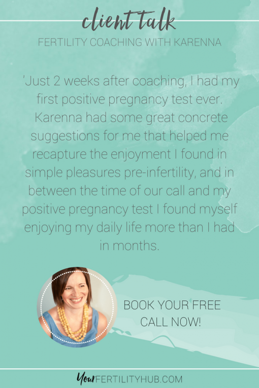 Fertility Coaching Client