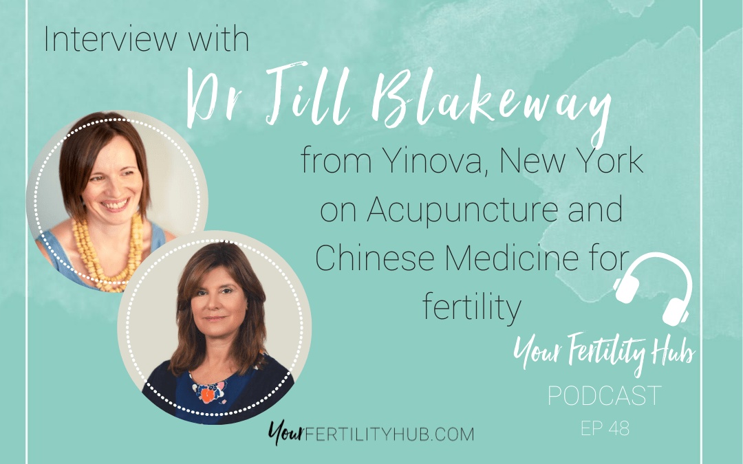 Podcast 48 – Chinese medicine and acupuncture for fertility with Dr Jill Blakeway of Yinova