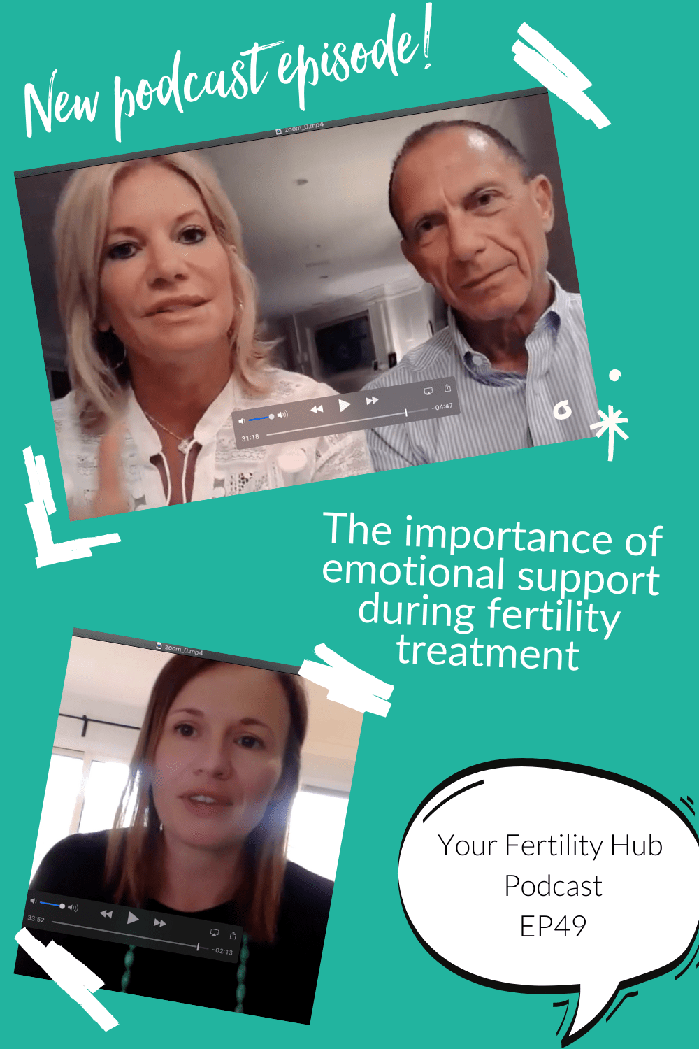 EP49 - the importance of emotional support during fertility treatment